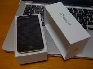 買っちゃったiPhone4